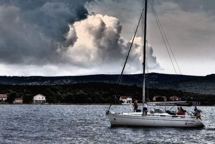 Navigation en mer Hilcox