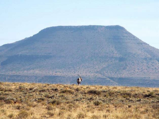 Région de Karoo en Afrique du Sud