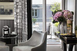 Hôtel Baume : Découverte des chambres archi-design