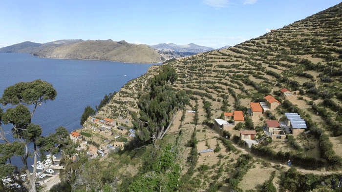 paysage en Bolivie